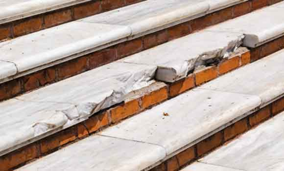 Faulty or broken stairs and steps can lead to personal injury and be grounds for a slip and fall aka premises liability case