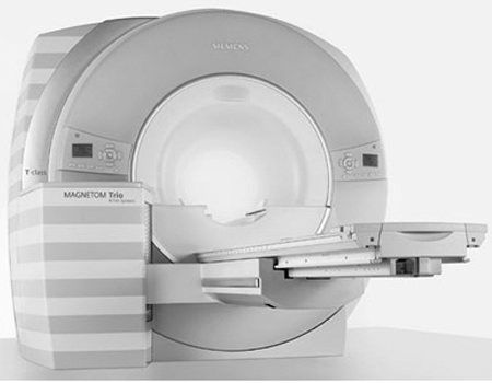 Closed MRI Machine