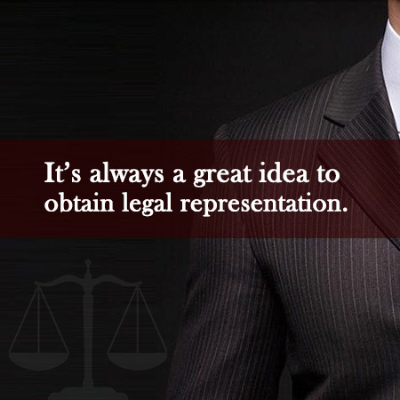 obtain legal representation